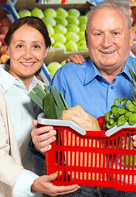 Aide a domicile – Cuisine et courses